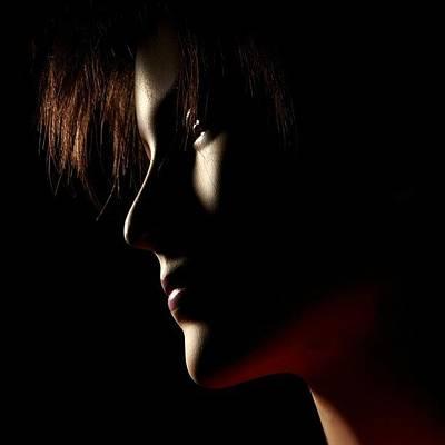 Portraits Photograph - Low Light #portrait by Tommy Tjahjono