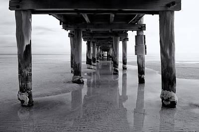 Low Tide Print by Tim Nichols