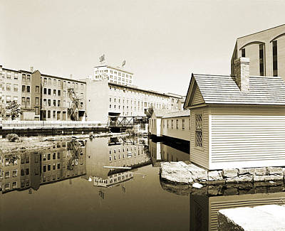 Lowell Canals Original by Jan Faul