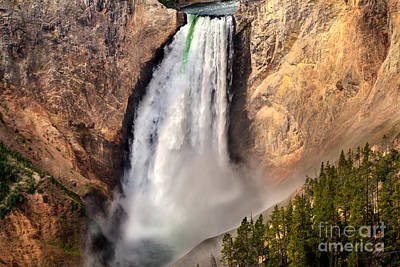 Lower Falls Of Yellowstone Original by Robert Bales