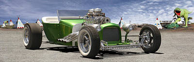 Street Rod Photograph - Lowrider At Painted Desert 2 by Mike McGlothlen