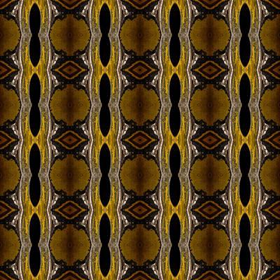 Macro Photograph - Lug Nut Snake Skin by  Onyonet  Photo Studios