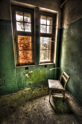 Haunted House Photograph - Lunatic Seat by Nathan Wright