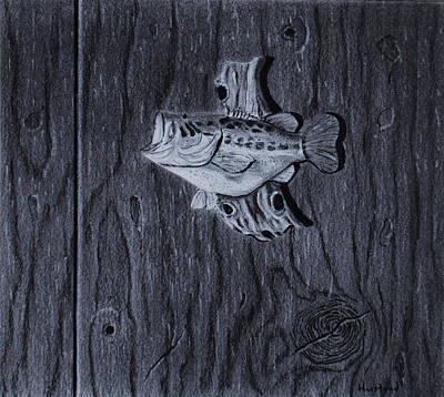 Lunker Print by Brian Hustead