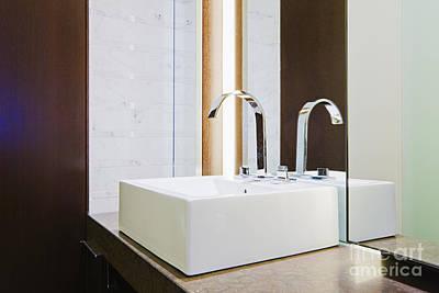 Bathroom Sinks Photograph - Luxury Sink by Jeremy Woodhouse