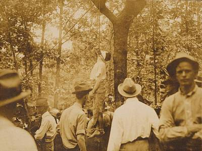 Lynching Of Leo Frank 1884-1915 Print by Everett
