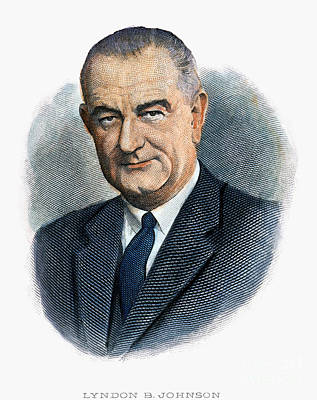Lyndon Photograph - Lyndon Johnson (1908-1973) by Granger