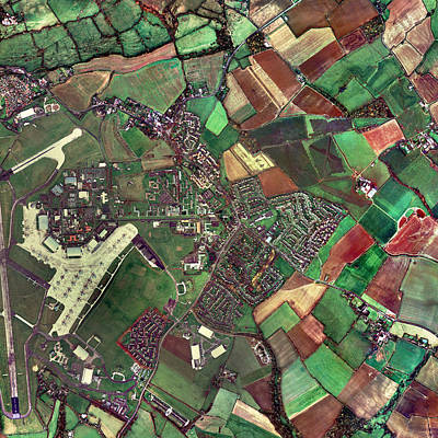 Raf Photograph - Lyneham, Wiltshire, Uk, Aerial Photograph by Getmapping Plc