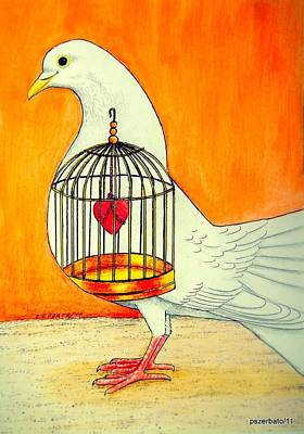 Moral Digital Art - Lyricism That Isn't Liberation by Paulo Zerbato