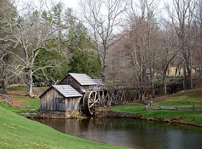 Mabry Mill Print by Jim Goldseth