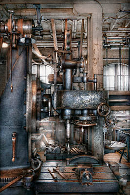 Tool Maker Photograph - Machinist - My Really Cool Job by Mike Savad