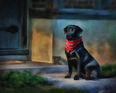 Lab Digital Art - Mack Waits by Suni Roveto