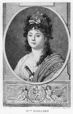 Mademoiselle Maillard Print by Granger