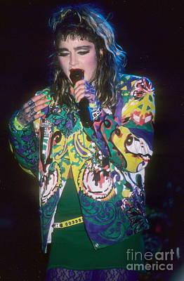 Madonna 1985 Print by David Plastik