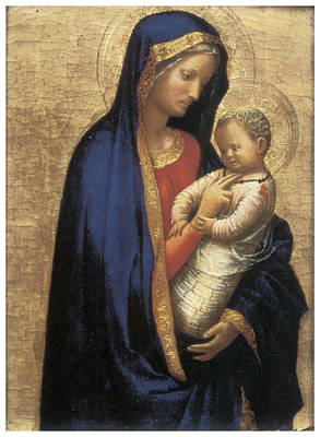 Madonna Casini Print by Tommaso Macassio