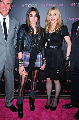 Ankle Bracelet Photograph - Madonna, Lourdes Leon, Aka Lola by Everett