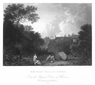 Maecenas Villa At Tivoli Print by Granger
