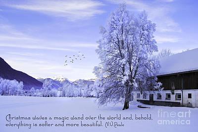 Magic Wand Print by Sabine Jacobs