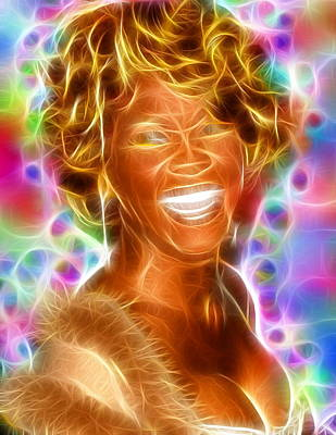 Magical Whitney Print by Paul Van Scott