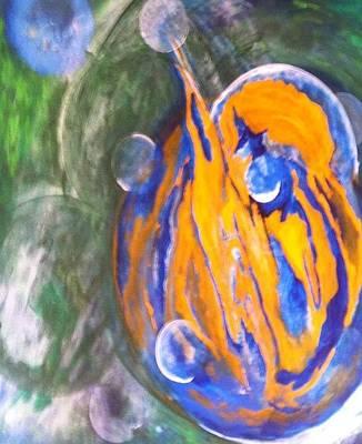 Tantra Painting - Magnetism by Bebe Brookman