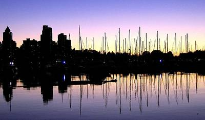 Magnificent Vancouver Sunset Print by Will Borden