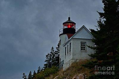 Maine Lighthouse Print by John Greim