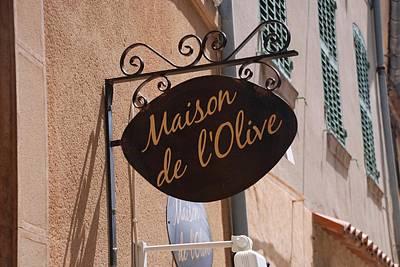 Maison De L'olive Print by Dany Lison