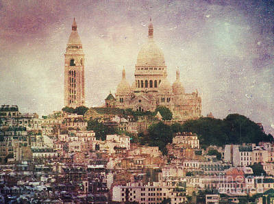 Sacre Coeur Photograph - Majestic Haze by Andrew Paranavitana