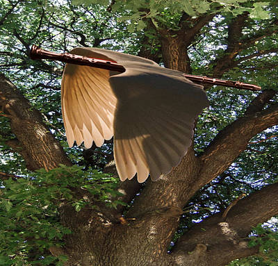 Lepidopterans Digital Art - Majestic Oak by Eric Kempson