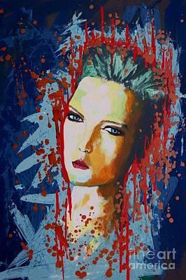 Www.artworkxofmann.com Mixed Media - Make No Compromise by James Flynn