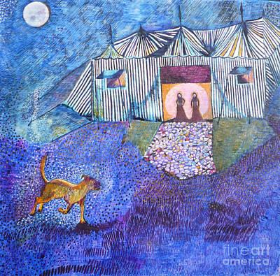 Egg Tempera Painting - Manawee by Catherine Meyers