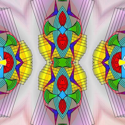 Mandala Mystery Print by Mario Carini