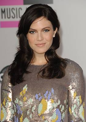 Mandy Moore At Arrivals For The 37th Print by Everett