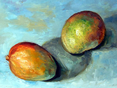 Fruits Painting - Mango's by Mark Hartung