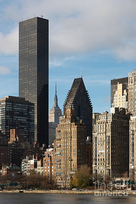 New York City Skyline Photograph - Manhattan East Side IIi by Clarence Holmes