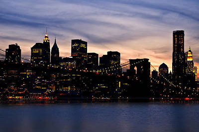 Manhattan Lights Original by Svetlana Sewell