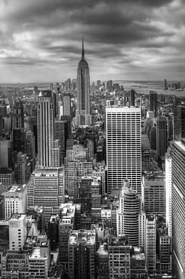 Manhattan01 Print by Svetlana Sewell