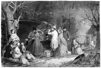 Maple Syrup, C1830 Print by Granger
