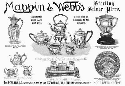 Tankard Photograph - Mappin & Webbs, 1892 by Granger