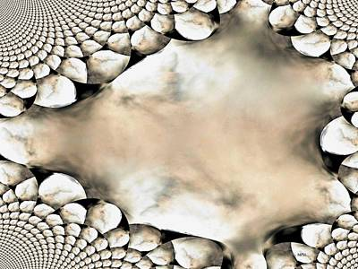 Marble Abstract Print by Maria Urso