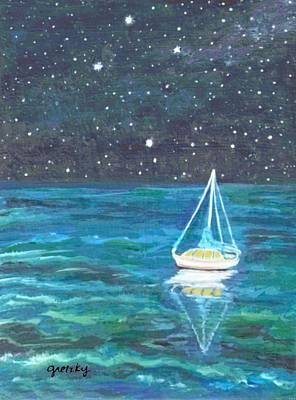 Ocean Painting - Marcy's Dream by Paintings by Gretzky