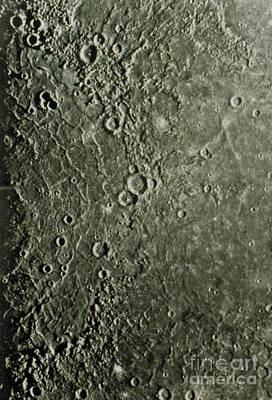 Mariner 10 Mosaic Of Mercury Showing Print by NASA / Science Source