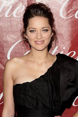 Palm Springs Convention Center Photograph - Marion Cotillard At Arrivals For 21st by Everett