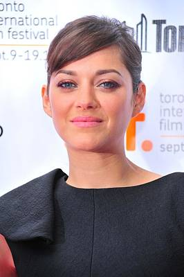 2010s Makeup Photograph - Marion Cotillard At Arrivals For Little by Everett