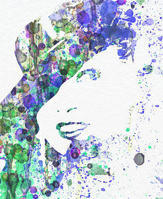 Express Digital Art - Marlene Dietrich by Naxart Studio