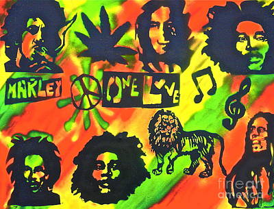 Conscious Painting - Marley Forever by Tony B Conscious