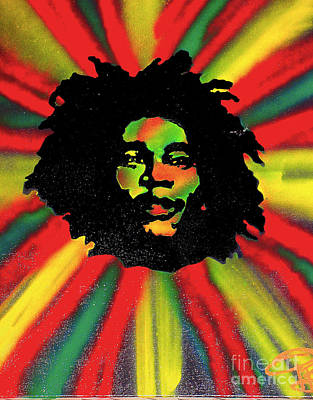 Liberal Painting - Marley Starburst by Tony B Conscious