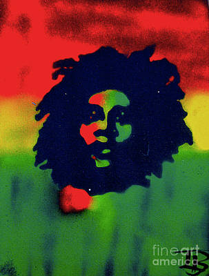 Liberal Painting - Marley by Tony B Conscious