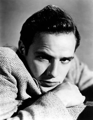 Marlon Brando, Early 1950s Print by Everett