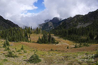 Washington Photograph - Marmot Pass by Sean Griffin